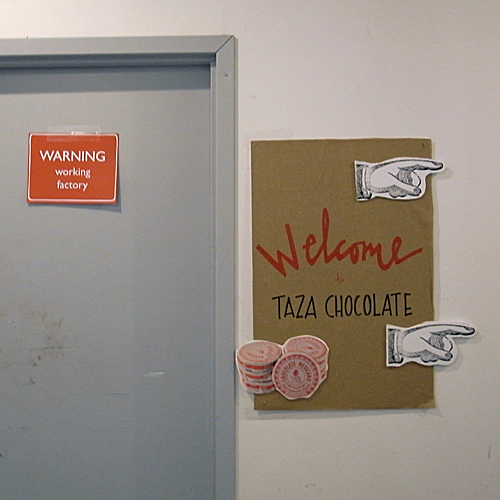 Welcome to the Taza Chocolate Factory Tour