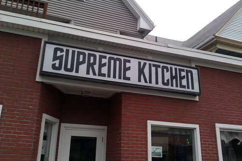 Supreme Kitchen, where no man has gone before