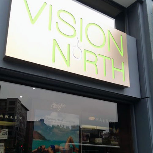 Vision North's new advertising